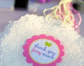 Fairy Garden Party - Printable Thank You Party Tags by Sweet Metel Moments