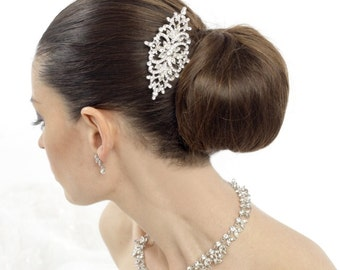 Bridal hair comb, wedding hair comb, crystal hair comb, prom hair comb, rhinestone hair comb, deco hair comb, vintage style hair comb
