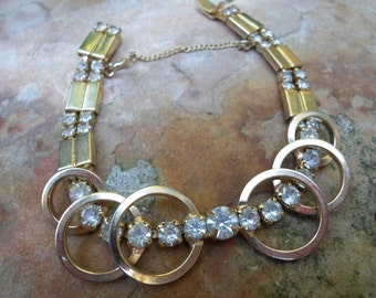 Sara Coventry Vintage Collection 1956 Celestial Fire Bracelet