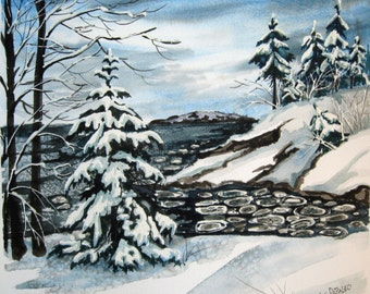 Silent Snow, Presque Isle Park, Marquette,Mi.