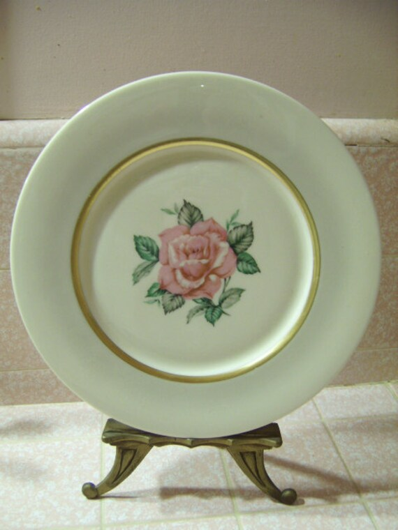 Four 4 Vintage Society Fine China Sweetheart Rose Dinner