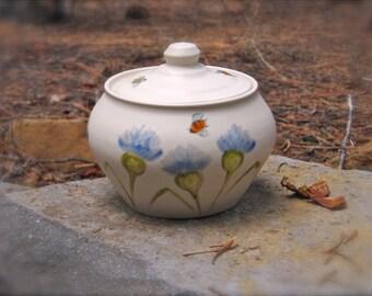 Bee-youtiful Covered Jar
