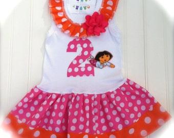 Girls Custom Dress Girls Clothing Girls Birthday Outfit Girls Dress Kids Baby Toddlers Dresses Size 6-9 12 18 24 Months Girls 2 3 4 5 6 8