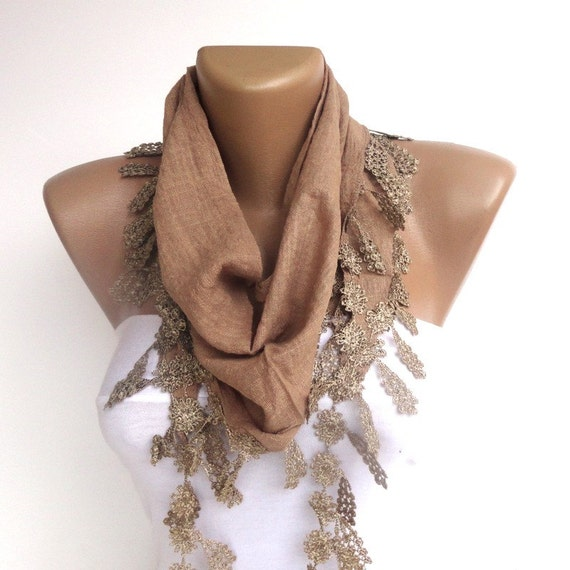 light brown women fashion scarf summer trends spring
