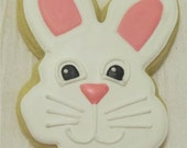 Bunny Face cookies 2 dozen