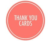 Coordinating Thank You Cards