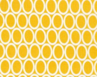 Half Yard Remix Ovals in Summer, Ann Kelle for Robert Kaufman Fabrics, 100% Cotton Fabric