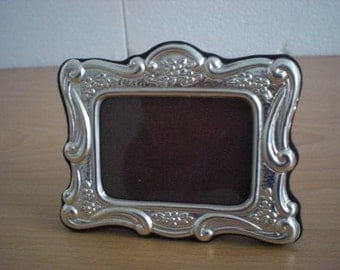 Handmade Sterling Silver Photo Picture Frame 84 4x6 GB new
