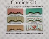 Dollhouse Chippendale cornice kit