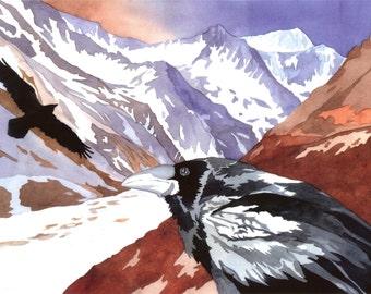Ravens Glacier