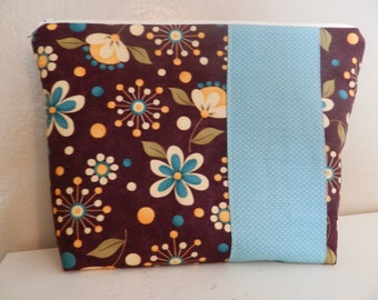 XL Flat Bottom Zip Top Cosmetic Bag is Ready to Ship