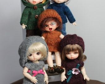 10 Knitting PATTERNS for Pukipuki / Lati White