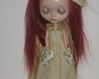 Blythe  Sweet Peasant Maxi Dress  (BD48513)