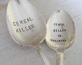 Cereal Killer Spoon Set