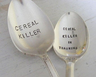 Cereal Killer Spoon Set
