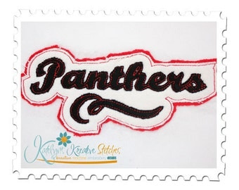Panthers Distressed Applique