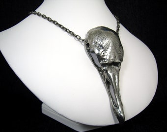Vulture Skull Necklace