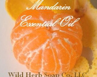 MANDARIN (Orange) Essential Oil (100% Pure, ORGANIC, Uncut) 1/8 oz.