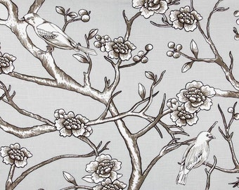 Pair of Custom  Curtains or Drapes, 50 x 84 inches at this price, any size available, Dwell Studio Vintage Blossom