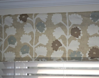 """Valance, window treatment, approximately 49"""" wide and 13"""" tall,  ready to ship, more available"""