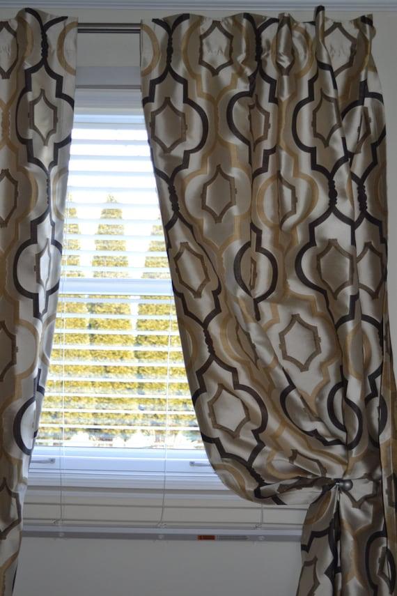 Items Similar To Window Curtains Custom Drapes Very