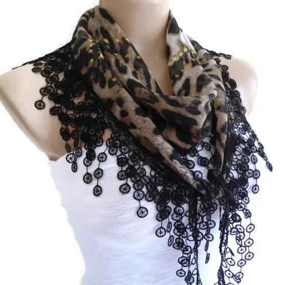 turkish scarfnecklace scarves traditional by likeknitting