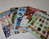 Quick Crochet Hats Patterns Crochet Fantasy  Bookmarks Ski Accessories 5 Magazines Booklets