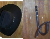 Cowboy hat hanger-Keep your hat from losing its shape when you hang it up hand crafted in the USA