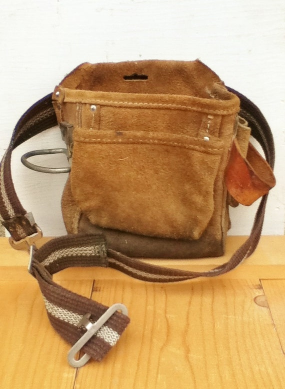 leather tool belt tool pouch carpenter by