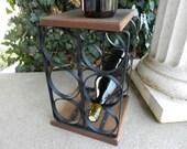 SALE- Twisted Napa wine rack