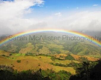 Costa Rica Rainbow photography print