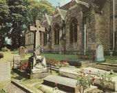 Vintage Postcard Bladon Churchyard Great Britain Europe - Colourmaster International - 1970s
