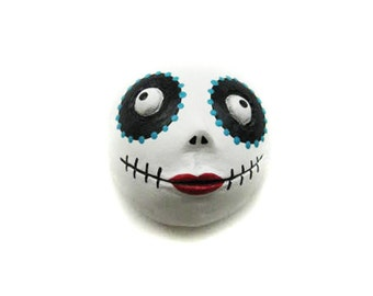 Day of the Dead - Dia de los muertos - Halloween Magnet - Halloween Decor