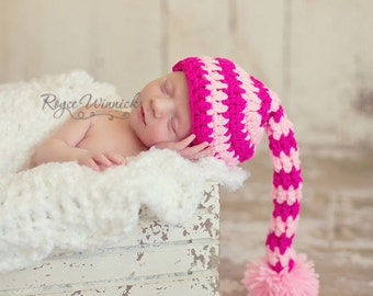 Baby Elf Hat and Photography Prop