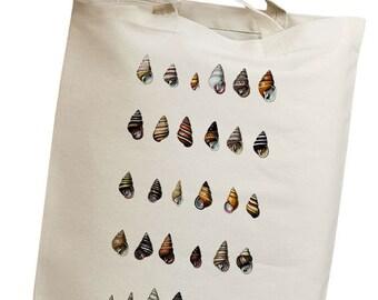 Seashell 08 Eco Friendly Canvas Tote Bag (isl096)