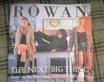 Rowan The Next Big Thing featuring knitting patterns in Big Wool , Biggy Print and Chunky Print