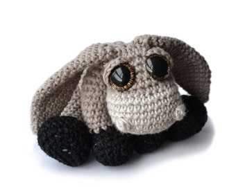 Donkey Amigurumi Crochet Pattern PDF - Arthur