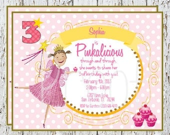 NEW - Pinkalicious Invitations, set of 12