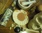 Red Brick Dust - arts crafts powders voodoo Hoodoo witchcraft wicca
