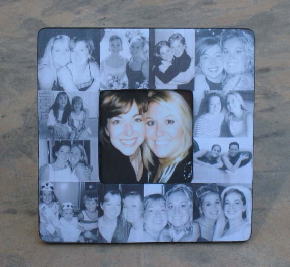 Unusual Wedding Gift For Sister : ... Gift, Custom Wedding Picture Frame, Sister Gift, Unique Personalized