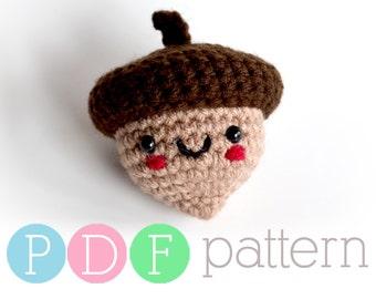 Amigurumi Acorn - Crochet PDF Pattern