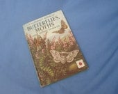 Vintage Ladybird Book Butterflies, Moths and other insects - Series 536 from 1967 2/6 Matt Covers
