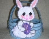 Blue Easter Basket