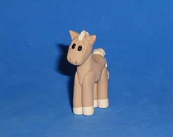 Polymer clay Horse