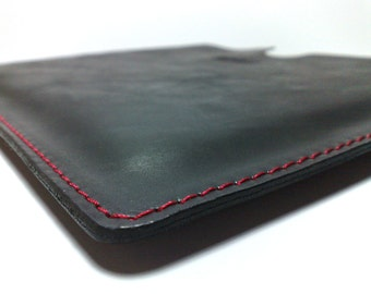 Perfect case for Kindle Fire Case Sleeve holder genuine leather for  Kindle Fire free INITIALS