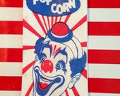 Derby Hat Clown Popcorn Bags qty 30