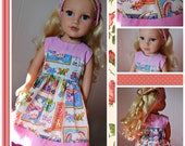 18 Inch Doll Clothes - Spring Dress