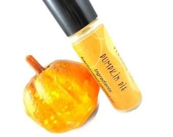 Pumpkin Pie Perfume Oil - Pumpkin, Nutmeg, Vanilla - Fall Favorite