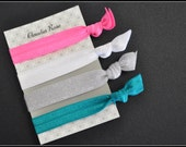 Knotted Elastic Hair Tie Set