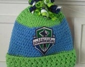 Seattle Sounders FCC baby beanie